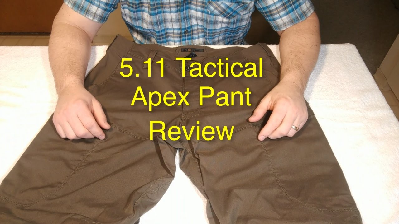 5 11 tactical apex pant review why these are the best pant ever [ 1280 x 720 Pixel ]