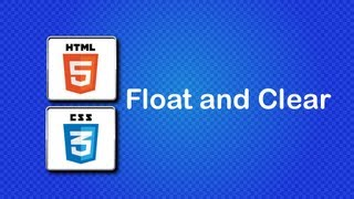HTML5 and CSS3 Beginner Tutorial 21 - Float and Clear