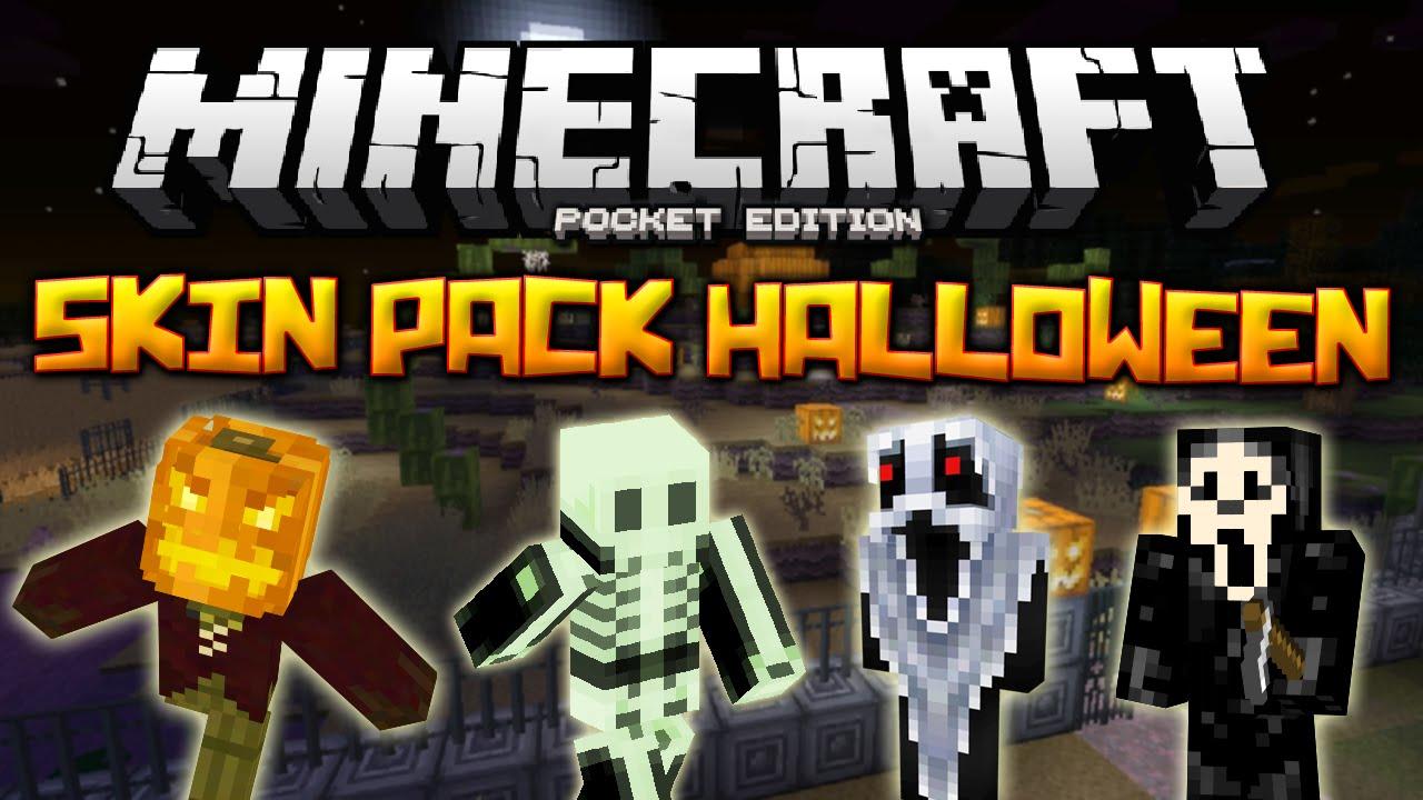 SKIN PACK HALLOWEEN PARA MINECRAFT PE L Minecraft Pocket - Skins fur minecraft skindex