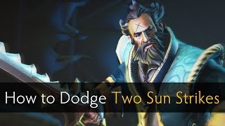 Dota 2 How to Dodge Two Sun Strikes