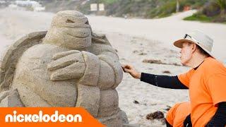 Черепашки-ниндзя | Скульптуры из песка | Nickelodeon Россия
