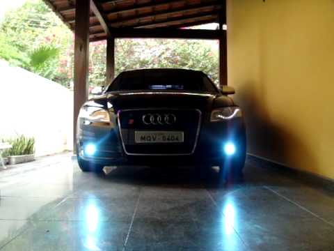 AUDI A B LED HEADLIGHTS PM YouTube - 2006 audi a4 headlights