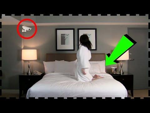 Bu Kadın, Kendisini İzlemek İçin Odasına Kamera Koydu Ve İzleyince İnanamadı