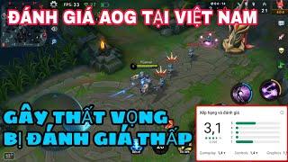 Đánh giá AOG ĐTVQ tại Việt Nam - Gây thất vọng, bị đánh giá thấp | AOG Việt Nam