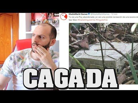 ¡MEDIAMARKT LA CAGA CON LA PLAYSTATION! - sasel - Sega - Dreamcast - dia del orgullo friki