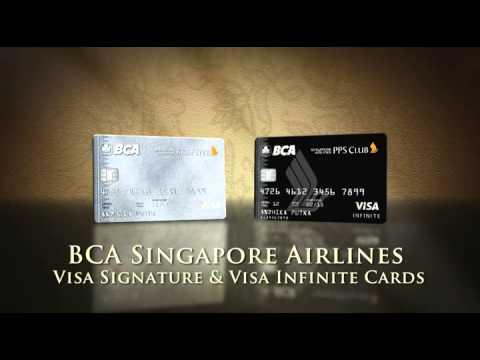 BCA SINGAPORE AIRLINES VISA CARD