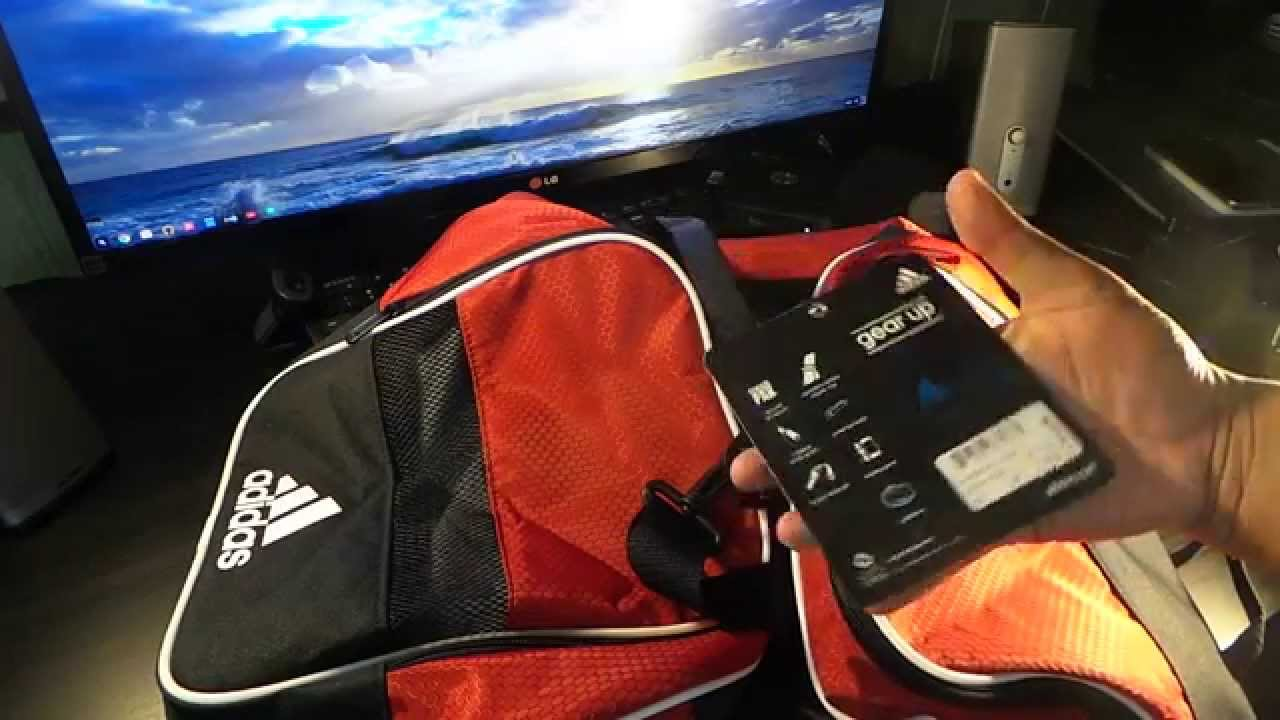 64872d7d339c adidas Defender II Duffel Bag - YouTube