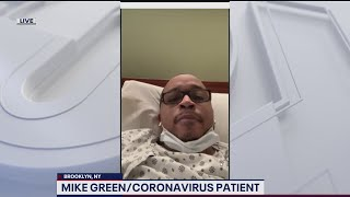 INTERVIEW: New York man says he's 'fighting as hard as I can' while battling coronavirus in hospital
