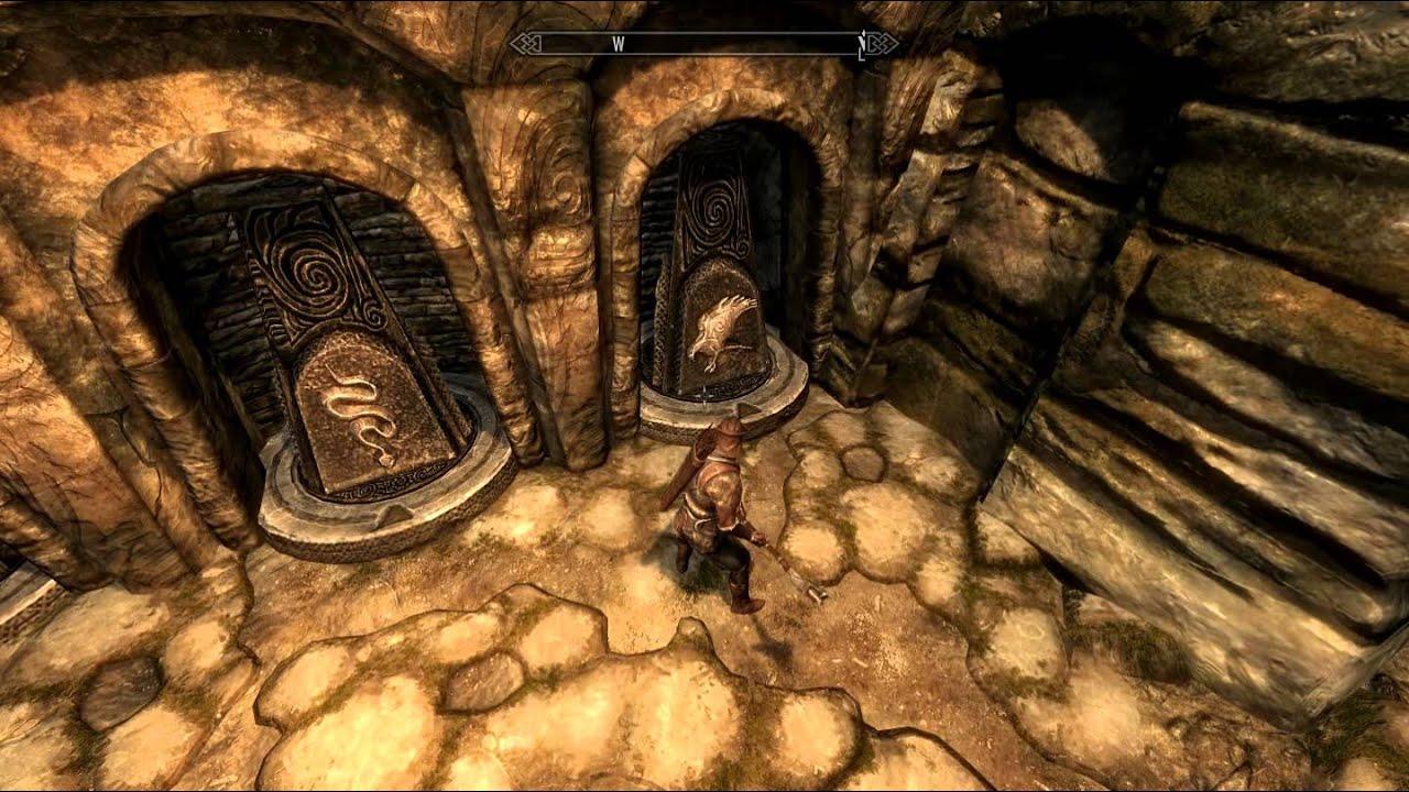 Skyrim Bleak Falls Sanctum Door Code