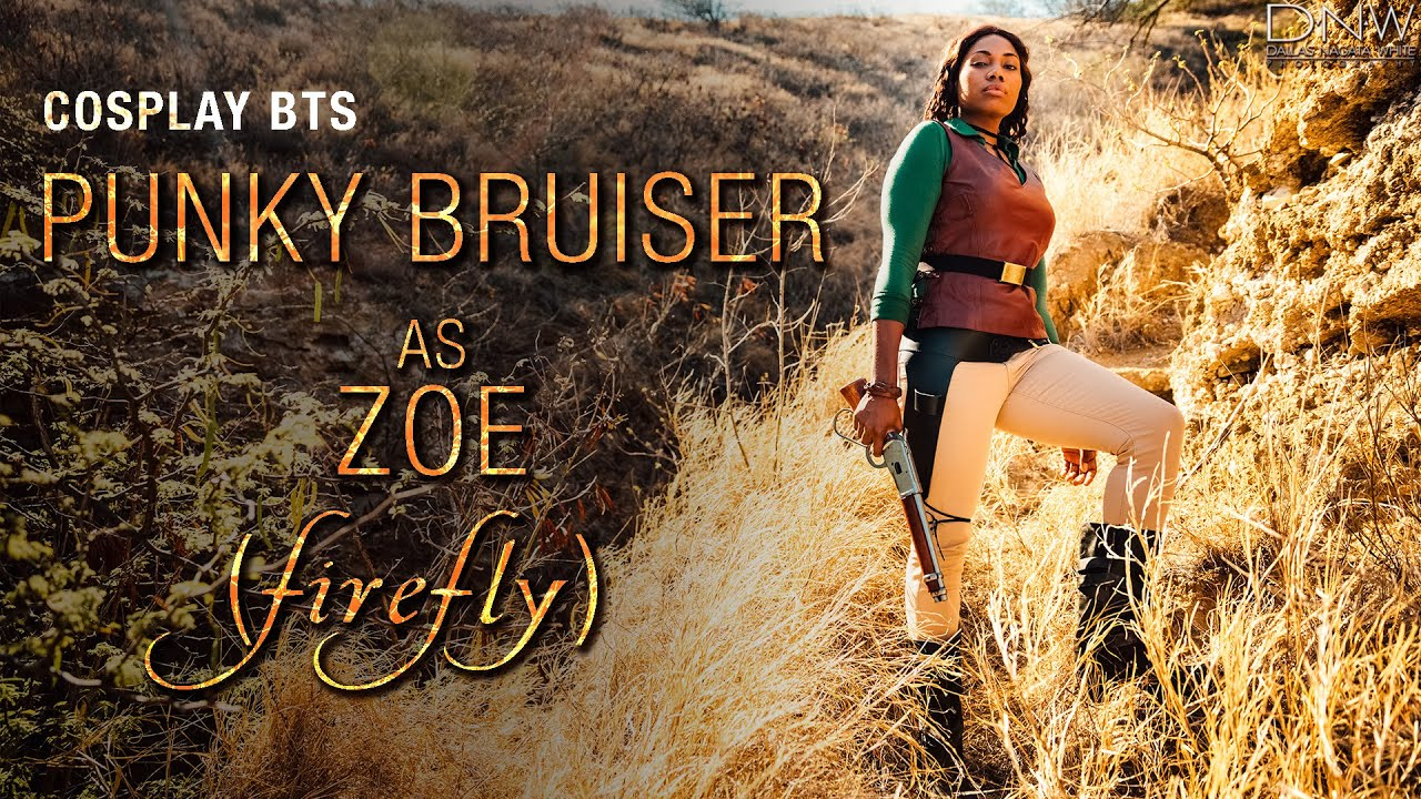 Cosplay BTS - Punky Bruiser as Zoe (Firefly) - YouTube