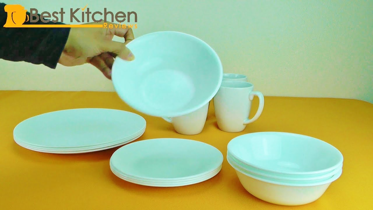 sc 1 st  YouTube & Corelle 16 Piece Dinnerware Set Review - YouTube