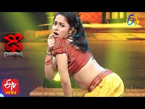 Tejashwini Performance | Dhee Champions |  19th February 2020  | ETV Telugu