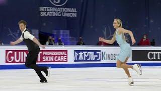 Виктория Синицина и Никита Кацалапов выиграли ритм танец на чемпионате мира по фигурному катанию