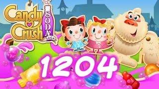 Candy Crush Soda Saga Level 1204 - 12 Moves Left