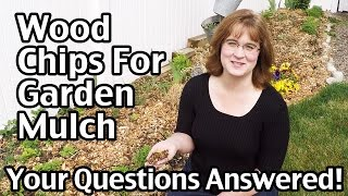Wood Chips For Garden Mulch - Your Questions Answered!