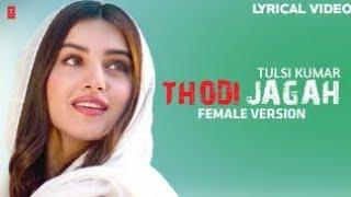 thodi-jagah-cover-prabhjee-kaur-thodi-jagah-female-version-arijit