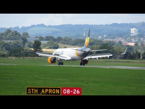 Exeter Airport A321, B737, ERJ 195 and Much More