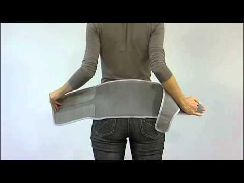 Ceinture lombaire lombax original thuasne prevarice - YouTube 013194f241c