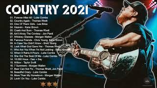 Luke Combs, Morgan Wallen, Brett young, Thomas Rhett, Jon Pardi, Lee Brice - Greatest Hits 2021
