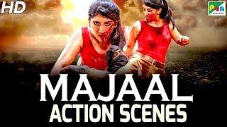 Bullet Rani - Action Scenes | Hindi Dubbed Movie | Jana Gana Mana  | Ayesha Habib, Ravi Kale