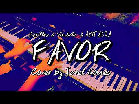 Skrillex & Vindata & NSTASIA - Favor (Jarel Gomes Piano)
