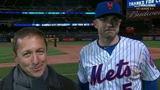 WS2015 Gm3: Wright discusses his four RBIs, Mets' win