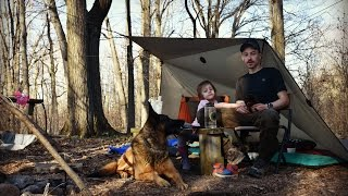 Camping with a Kid.