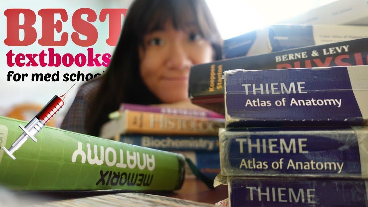 BEST TEXTBOOKS FOR MED SCHOOL // anatomy, biochem, physio ...