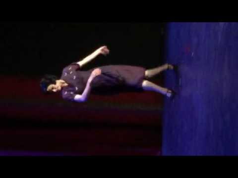 Saundra Santiago performing