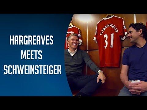 Owen Hargreaves meets Bastian Schweinsteiger| BT Sport