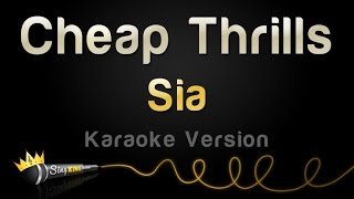 Скачать Sia Cheap Thrills Karaoke Version