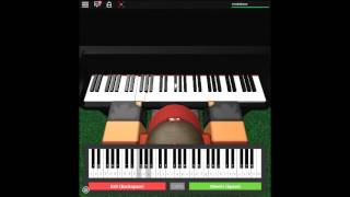 Heart and Soul on a ROBLOX piano.