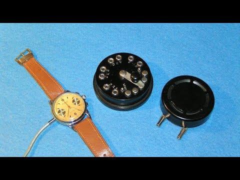 Detective Dictograph и часы-микрофон Minifon - wrist-watch microphone