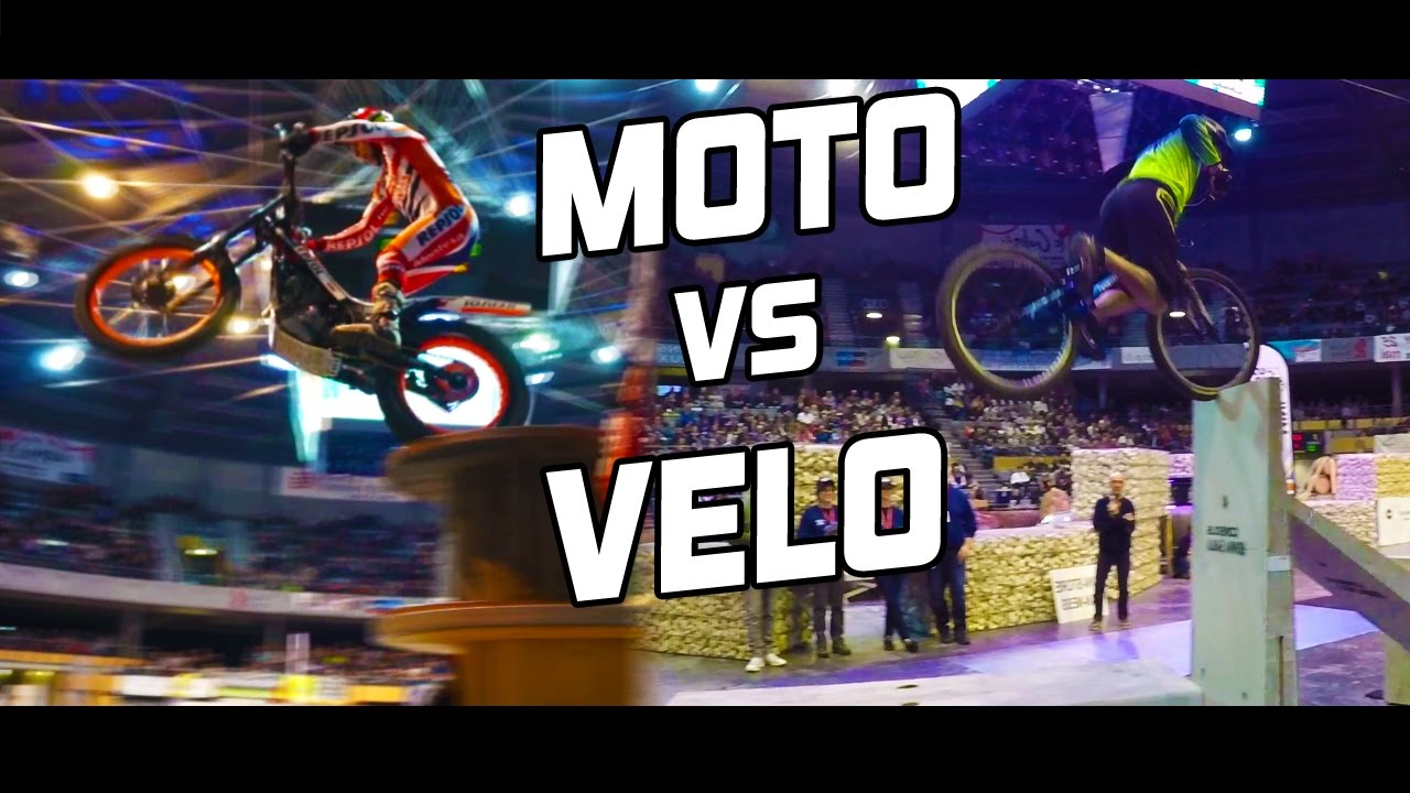 MOTO vs VELO TRIAL / FREESTYLE