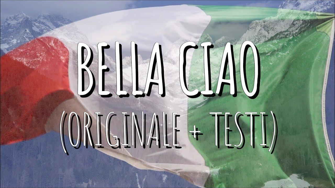 Bella Ciao Canzone Originale Testo Youtube