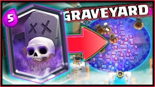 LEGENDARY GRAVEYARD CARD • CLASH ROYALE