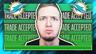 WORLD RECORD HUGE TRADES ACCEPTED ON TRADE DEADLINE DAY! (Madden NFL Franchise)