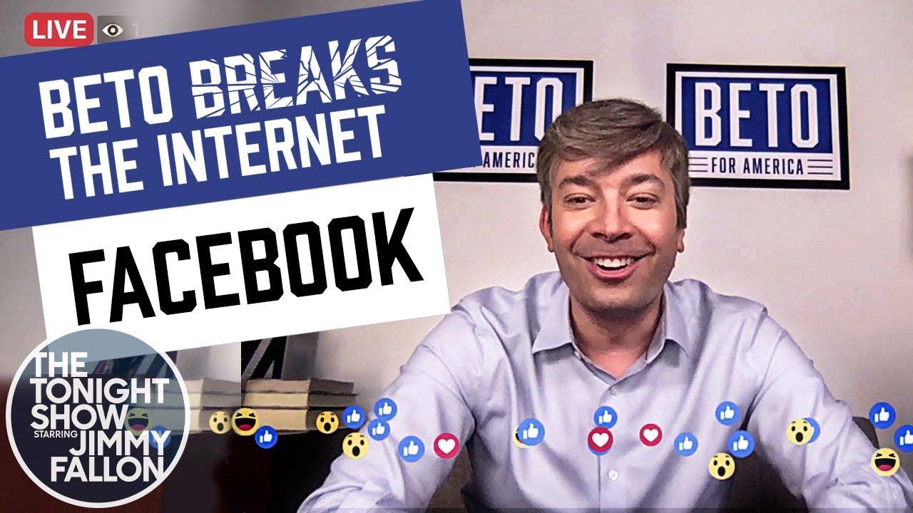 Beto O'Rourke Answers Fan Questions on Facebook Live: Beto Breaks the Internet Ep. 1