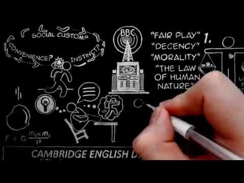 The Reality of the Moral Law by C.S. Lewis Doodle (BBC Talk 2 / Mere Christianity Chapter 3)