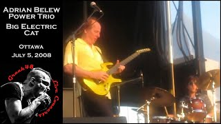 "Adrian Belew Power Trio - ""Big Electric Cat"" live"