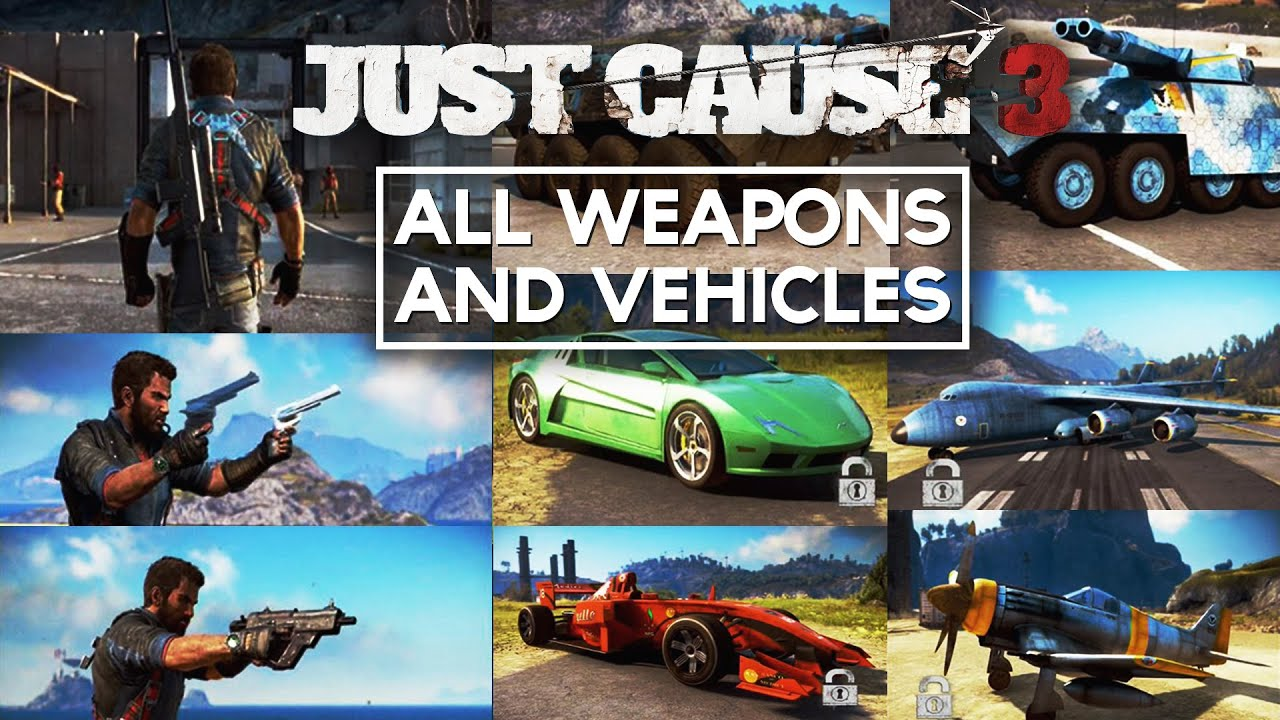just cause 3 how to use the dual tether