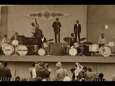 Drum Battle Newport 1974   Elvin Jones, Art Blakey, Max Roach & Buddy Rich