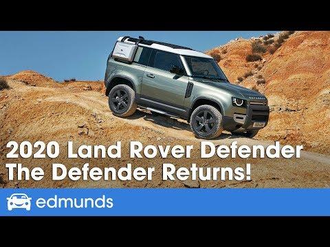 2020 Land Rover Defender Reveal & First Look — Frankfurt Motor Show