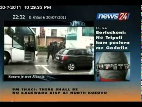 reportazh nga Tirona Fanatics ne trnave