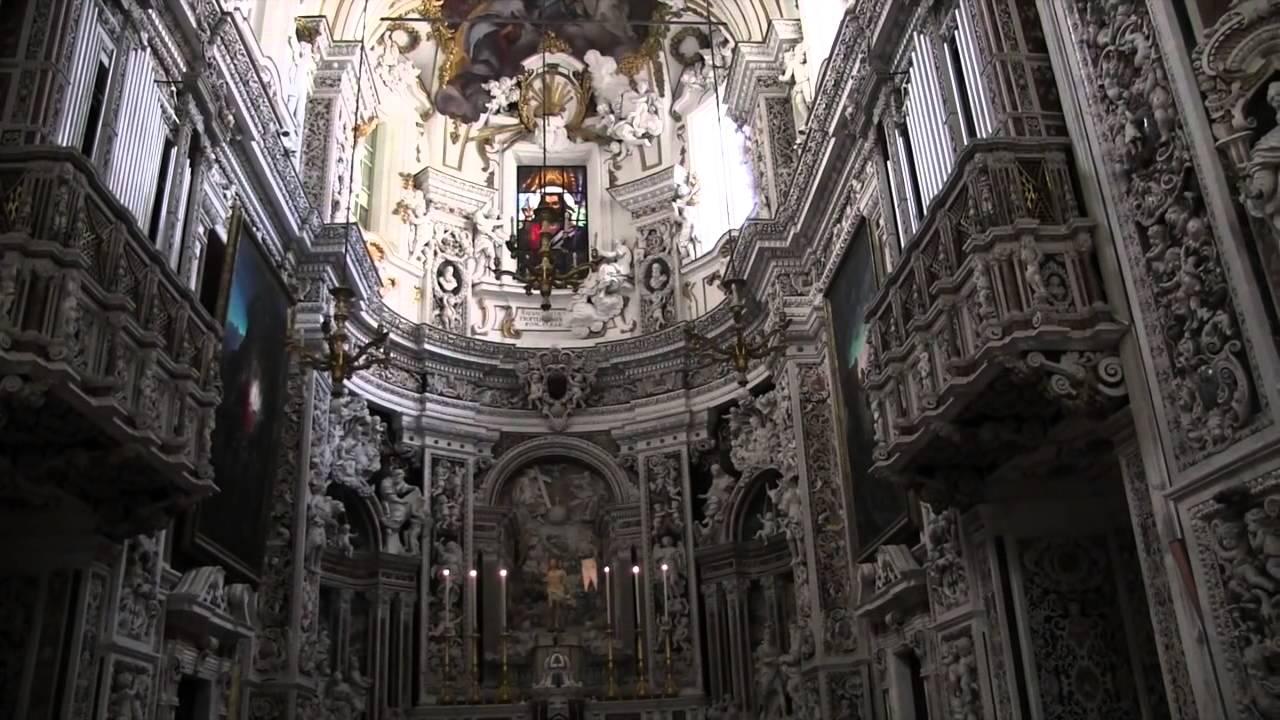 Casa Professa  chiesa di Santa Maria di Gesu 1 Palermo Sicily 2015  YouTube