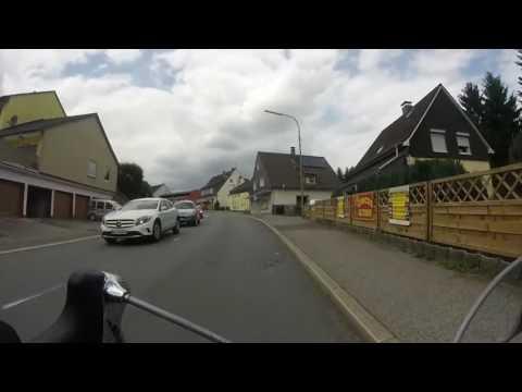 Rennradtour durch´s Bergische Land, 72 km, gefilmt mit Gopro