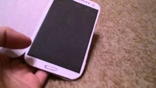 Samsung Galaxy S4 из бумаги.