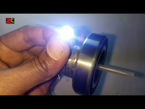 free energy idea | motors power led light | motos generator | finger running energy motors