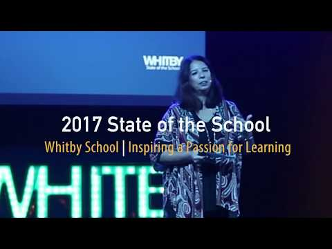 Whitby School's 2017 State of the School Celebration