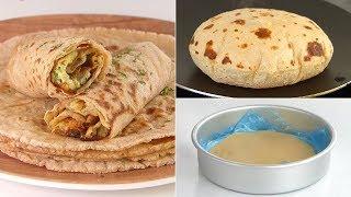 Soft Roti,Chapati/ Phulka Recipe with frozen Tips by Tiffin box | Indian Flat Bread Recipe, Tortilla